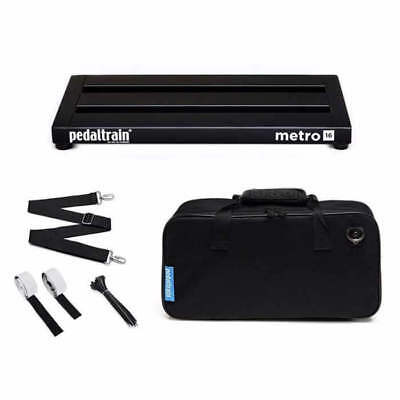 Pedaltrain Metro 16 with Soft Case PT-M16-SC Guitar Effects Pedal Board