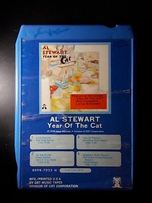 8-Track / 8-Spur Tonband /Cartridge :   AL STEWART - Year Of The Cat