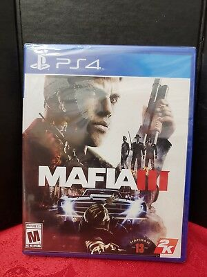 Mafia III PS4 (Sony PlayStation 4, 2016)