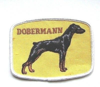 Vintage Dobermann Pinscher Dog Patch