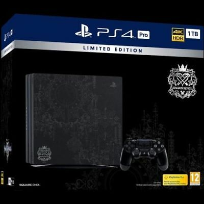 Kingdom Hearts PS4 Pro 1TB Console UK Limited Edition brand new no game included