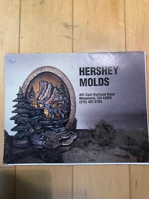 Hershey Mold Catalog Ceramic Vintage Native American Scences Back Issue