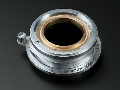 Prominent 50mm Nokton - Ultron to Leica M, M9, M240 adapter.