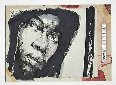 """Topps - The Walking Dead Hand Drawn Art """"michonne"""" One-Of-A-Kind - Autograph"""