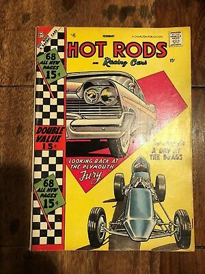Hot Rods And Racing Cars Comic  #34  Fn   68 Page Giant