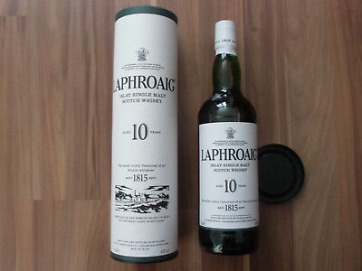 LAPHROAIG 10 Years Old, 0,7 L. 40% Single Malt Scotch Whisky von der Islay