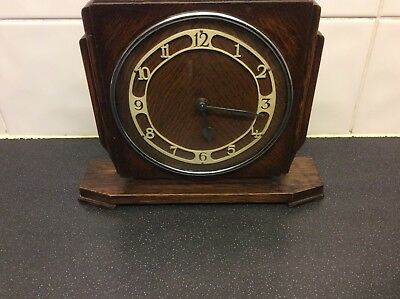 Vintage Mantel Clock Mechanism Movement