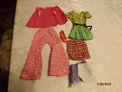 Vintage 60's 70's Ideal Crissy Doll Mod Dress outfit Vintage Crissy Clothing
