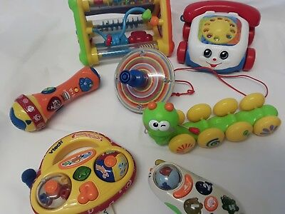 Baby Toddler Toy Bundle Vtech Chicco Fisher Price Chad Valley