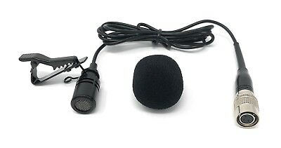 Lavalier Lapel Mic Omni-directional Tie Clip Microphone for Audio-Technica *NEW*