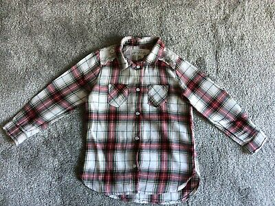 H&m Toddlers Check Shirt Age 1.5-2 Years