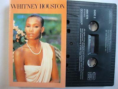 Whitney Houston -  Cassette Tape Saving All My Love For You
