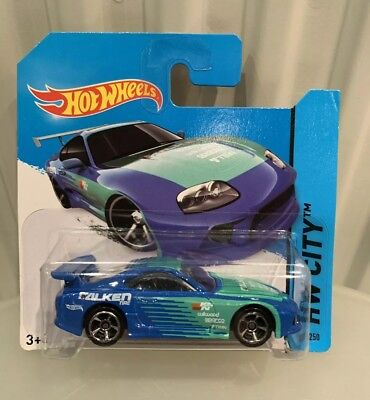Hot Wheels HW CITY 2014 Toyota Supra
