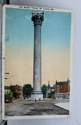 Missouri MO St Louis Water Tower Postcard Old Vintage Card View Standard Post PC