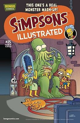 Simpsons Illustrated 25 *Bongo Comics, 2016, UK Seller*