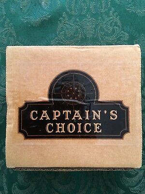 Captain's Choice Original Lather Bowl, Brand New in Box and Unused
