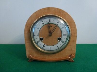Vintage Smiths Small Mantle Clock