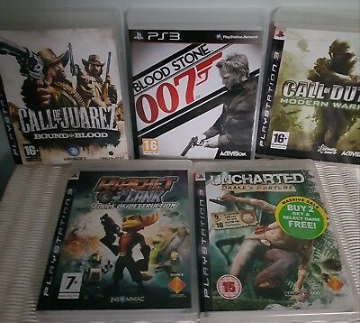 Ps3 Games Bundle - 5 games Call of Duty4  + 4
