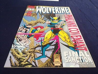 WOLVERINE #85 holo cover