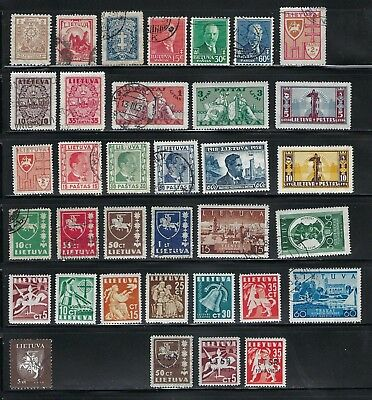 Lithuania Lot, 1923 to 1994