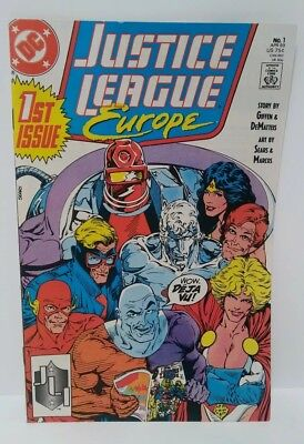 1989 DC Justice League Europe First Issue #1.  April, 1989