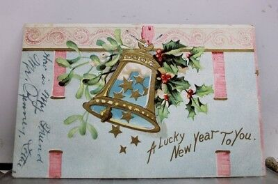 New Year A Lucky to You Postcard Old Vintage Card View Standard Souvenir Postal