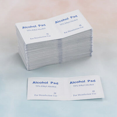 100x Alcohol Pad Swabs Pads Wipes Antiseptic Disinfect Medicine Skin Cleanser *t