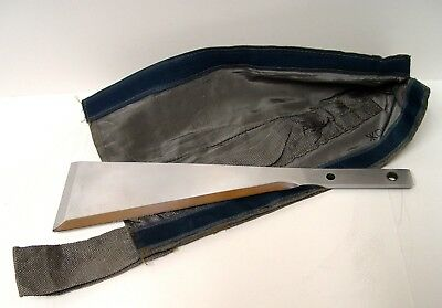Russian Soyuz Spacecraft Cosmonaut Survival Machete Blade & Sheath (New)