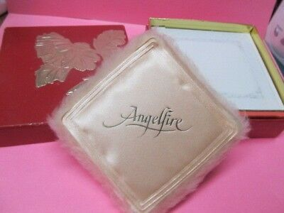 MARY KAY ~ ANGELFIRE LARGE 3 oz Perfume Dusting Powder with Box ~ New Vintage