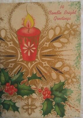 Box Vintage of Christmas Cards