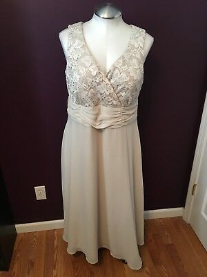 Coldwater Creek Mother of the Bride Groom Formal Dress Womens Size 18W 18