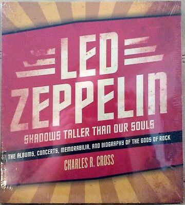 Led Zeppelin Shadows Taller Than Our Souls Biography Book Charles R Cross NEW