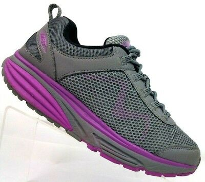 e65874a7ff4d MBT Gray Swiss Engineered Toning Walking Athletic Shoes 702012-1123Y  Women s 9