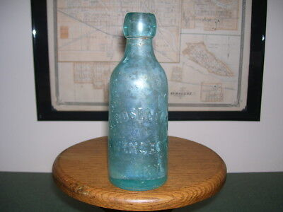 1870's Era Owensboro Kentucky B. Rosenthal True Blob Soda Bottle!