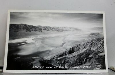 California CA Dantes View Death Valley Postcard Old Vintage Card View Standard