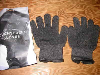 Mujjo Double Layered Touchscreen Gloves Size 5