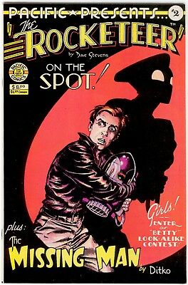 Pacific Presents #2 (1983) Rocketeer by Dave Stevens. Pacific Comics.