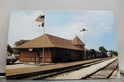 Iowa IA Boone Scenic Valley Railroad Depot Postcard Old Vintage Card View Post