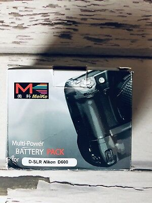 Meike Multi Power Battery Pack Nikon D600