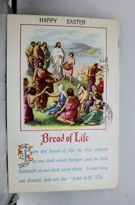 Christian Bread of Life Postcard Old Vintage Card View Standard Souvenir Postal