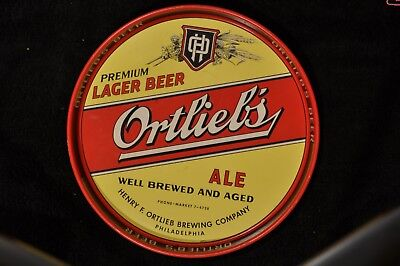 Ortlieb's larger /ale beer tray, philadelphia, PA
