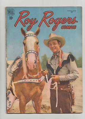 Roy Rogers Comics #16 Canadian Edition (Wilson Publishing 1949) VG+ 4.5