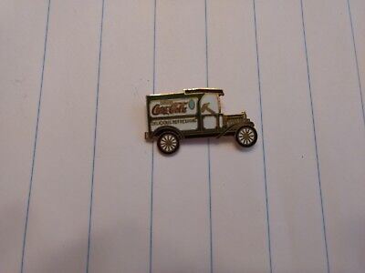 Vintage CocaCola Delivery Truck Enamelled Pin