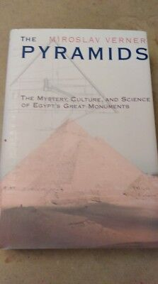 "1998 Miroslav Verner "" The Pyramids "" Hard Cover Near Mint Condition"