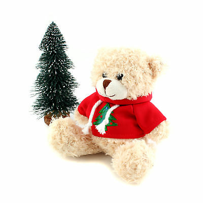 NEW Adorable Graduation Teddy Bear Plush Soft Toy Gift Red White