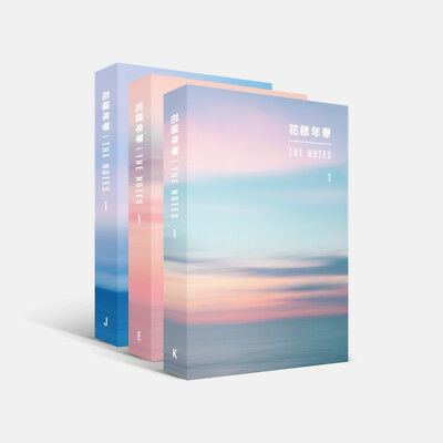 [BTS] - 花樣年華 THE NOTES SET(K/E/J)+Pre-Order Special Notes(Full Set Only)Official