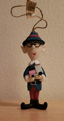 TALL ELF  Ornament Rudolph the Rednose Reindeer Island of Misfit Toys Enesco