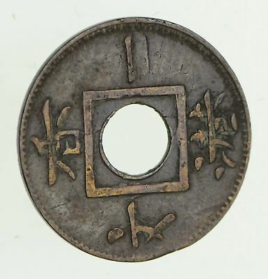 1865 Hong Kong 1 Mil - Historic World Coin *519