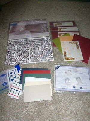Creative Memories Assortment Stickers and Paper Lot Mini Kits and Alphabets