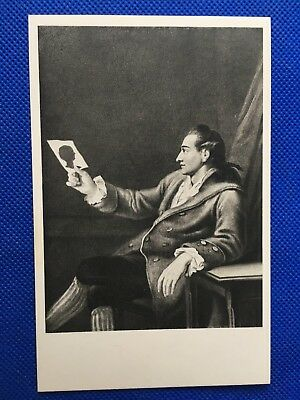 Old Goethehaus Post Card; Goethe, aged 27